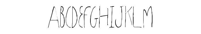 Sharoon Font UPPERCASE