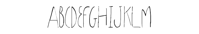 SharoonRegular Font UPPERCASE