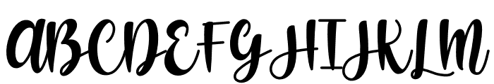 Shecarea Font UPPERCASE