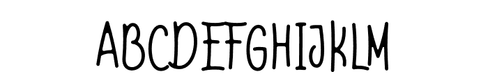 Shell & fish Font UPPERCASE