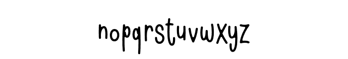 Shell & fish Font LOWERCASE