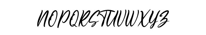Sheltone Font UPPERCASE