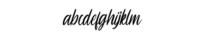 Sheltone Font LOWERCASE