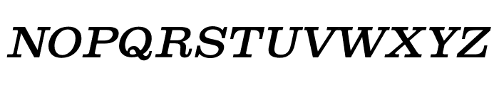 Shenandoah Clarendon Italic Font UPPERCASE