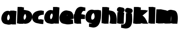 Sherbet Shadow Font LOWERCASE