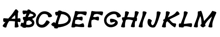 Sherbet Font UPPERCASE