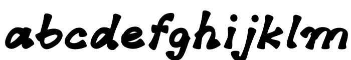 Sherbet Font LOWERCASE