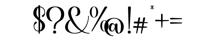 Shiny Aisyah Font OTHER CHARS