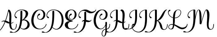 Shiny Aisyah Font UPPERCASE