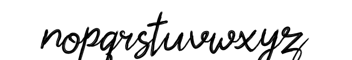 Shofia Mind Script Font LOWERCASE