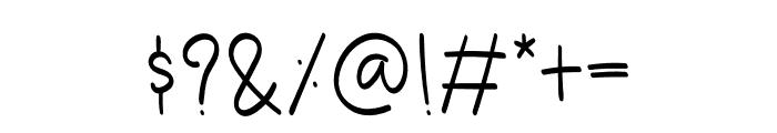 Shopper Font OTHER CHARS