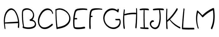Shopper Font UPPERCASE
