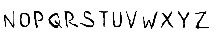 Sia 1000 Forms Of Fear V2 Font LOWERCASE