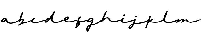 Sighnora Font LOWERCASE