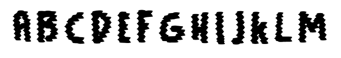 Signal Font UPPERCASE