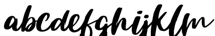 Sileighty Regular Font LOWERCASE