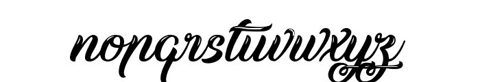 Silent Asia Font LOWERCASE