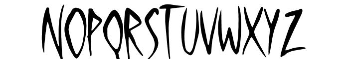 Silent Moon Font UPPERCASE