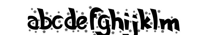 Silent Night Font LOWERCASE