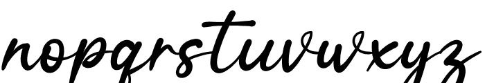 Silent Story Font LOWERCASE