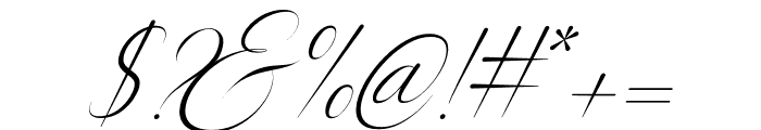 Silenter Font OTHER CHARS