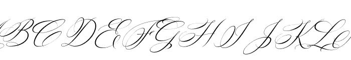 Silenter Font UPPERCASE