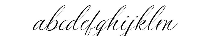 Silenter Font LOWERCASE
