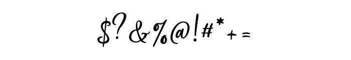 Silentmind Regular Font OTHER CHARS