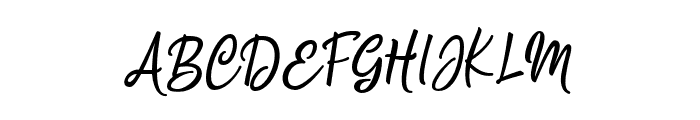 Silentmind Regular Font UPPERCASE
