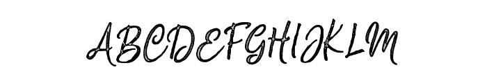 Silentmind Rough Regular Font UPPERCASE