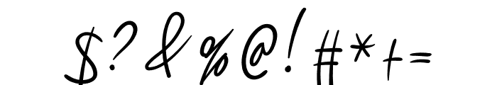 Sillameture Font OTHER CHARS