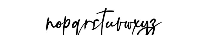 Sillameture Font LOWERCASE