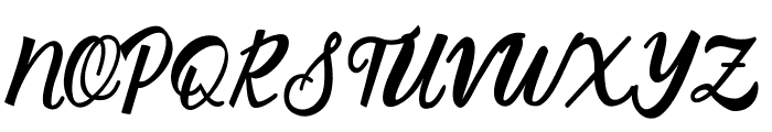 Silver Quality Font UPPERCASE