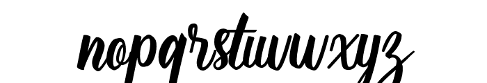 Silver Quality Font LOWERCASE
