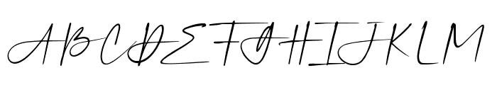 Silver Sands Slant Font UPPERCASE