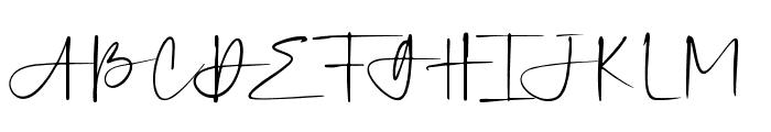 Silver Sands Font UPPERCASE