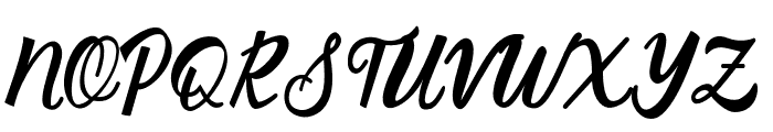 SilverQuality Font UPPERCASE