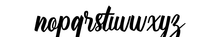 SilverQuality Font LOWERCASE
