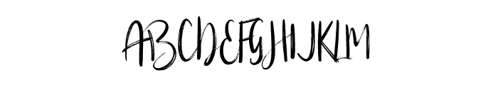 Silverberry-Alt Font UPPERCASE