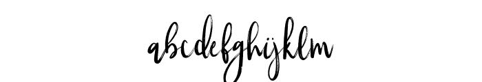 Silverberry-Alt Font LOWERCASE