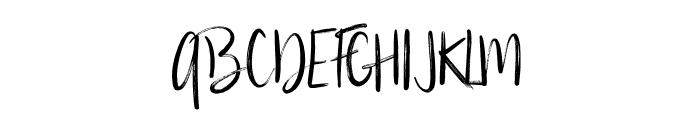 Silverberry-Regular Font UPPERCASE