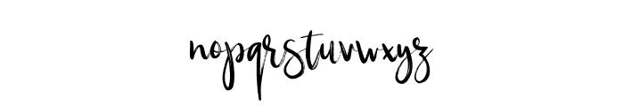 Silverberry-Regular Font LOWERCASE