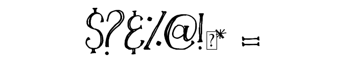 Silverwaves Font OTHER CHARS