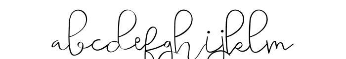 Simple Harmony Font LOWERCASE