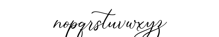 Simply Harmony Font LOWERCASE