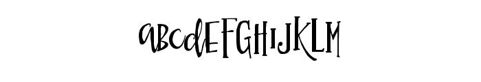 Simsalabim Typeface Regular Font UPPERCASE