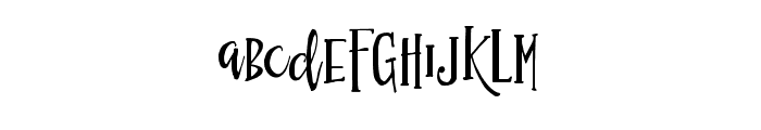 Simsalabim Typeface Regular Font LOWERCASE
