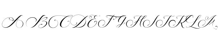 SinterSecret Font UPPERCASE