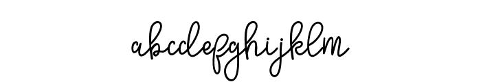 SinyakScript Font LOWERCASE