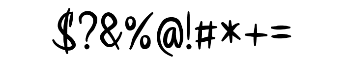Sirena Font OTHER CHARS